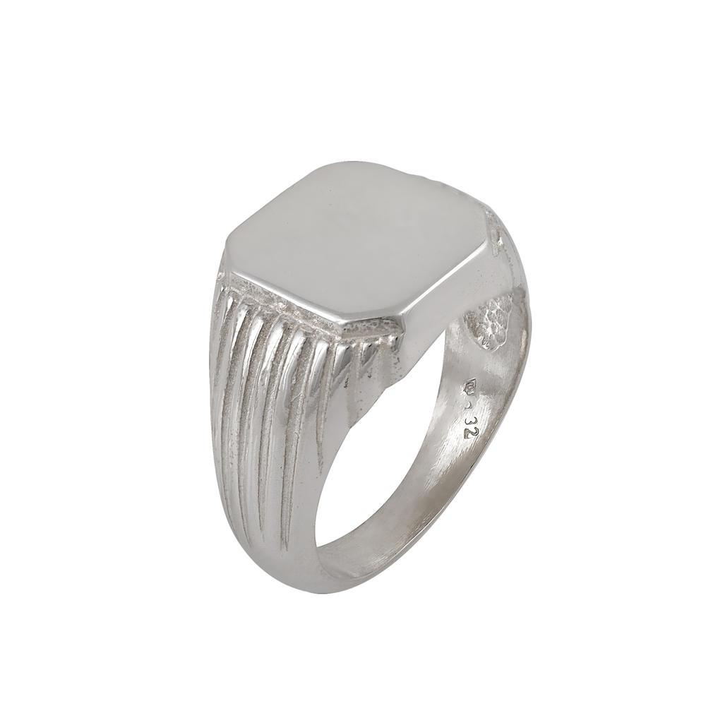 Ασημένιο χειροποίητο ανδρικό δαχτυλίδι 925