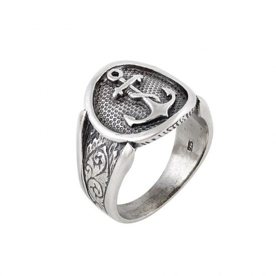 cce2dbf6fa Ασημένιο χειροποίητο ανδρικό δαχτυλίδι 925
